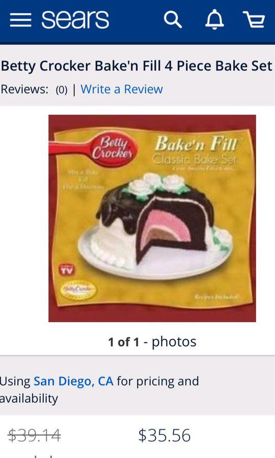 Betty Crocker Bake N Fill : betty, crocker, Betty, Crocker, Bake'n, Diego,, OfferUp