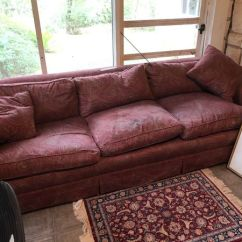 Cleaning Down Filled Sofa Cushions Lane Sleeper Twin Must Sell 3 Cushion U Move It For Sale In San Antonio Tx Offerup