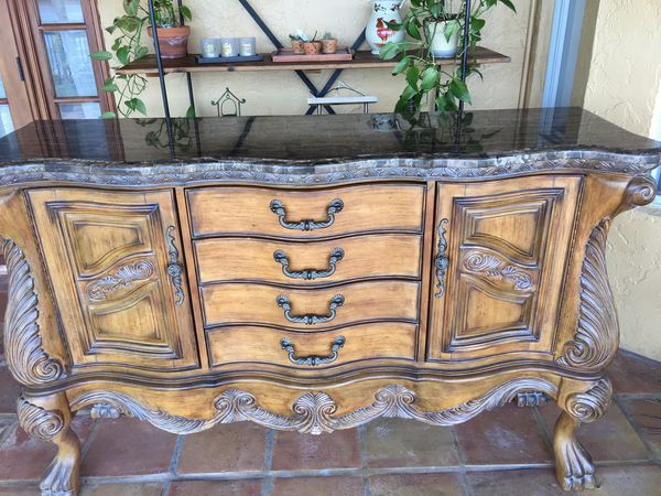 There are new products that we. Dining Room Buffet Table - purchased at El Dorado ...