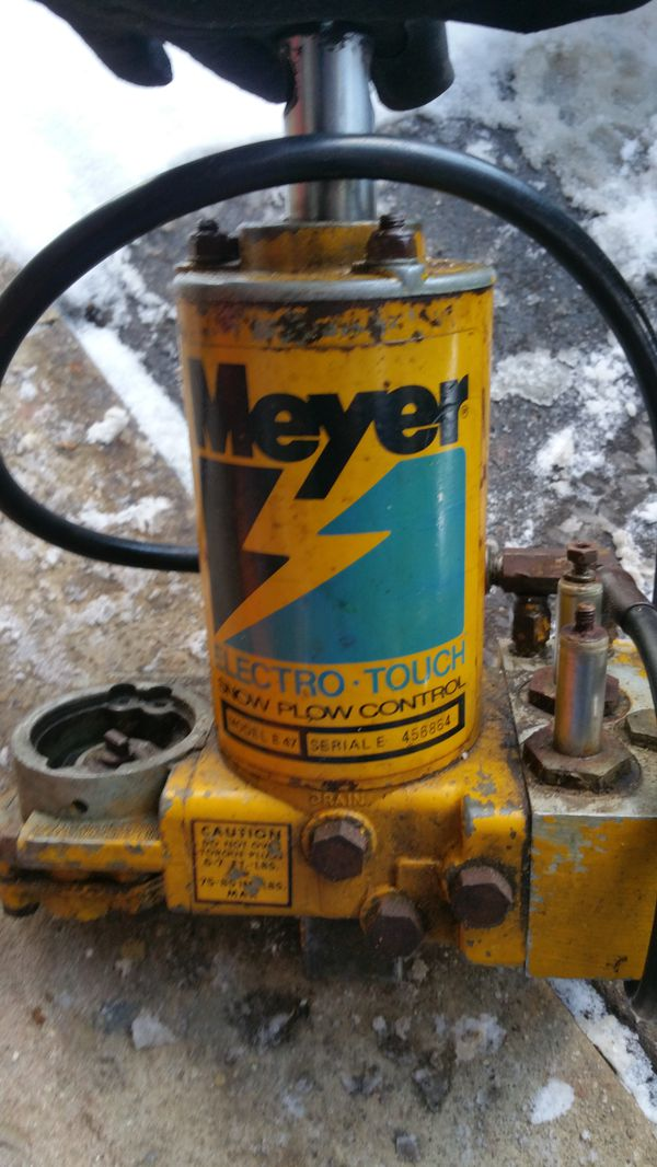 meyer plow pump 3 prong extension cord wiring diagram needs motor and silonoids for sale in cleveland oh