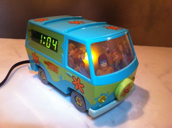 Scobby Doo Gang Alarm Clock The
