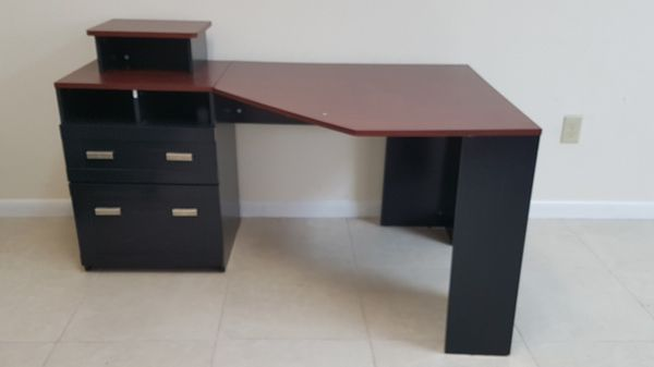 bush furniture wheaton reversible