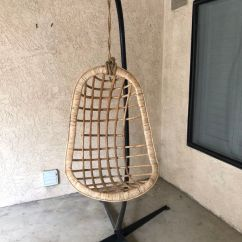 Hanging Rattan Chair Extra Large Folding Chairs Outdoor For Sale In Bakersfield Ca Offerup