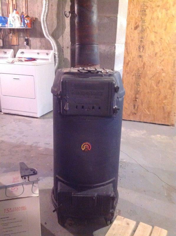 Kingoheat wood and coal stove for Sale in Mashpee MA