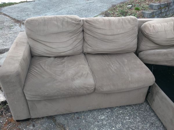 j m paquet sofa dark brown leather sets new and used sofas for sale in olympia wa offerup