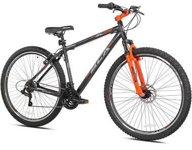 BCA SC29 Mountain Bike, Gray/Orange, 29