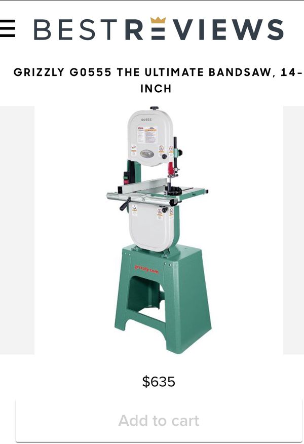 Grizzly Go555 Bandsaw