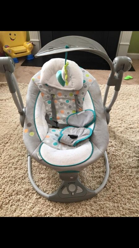 swing chair for 5 year old chicco polly high zest ingenuity baby sale in durham nc offerup