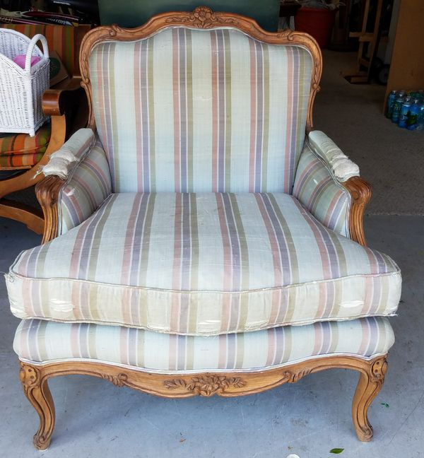 french bergere chair wheelchair bag interior crafts for sale in deerfield beach fl