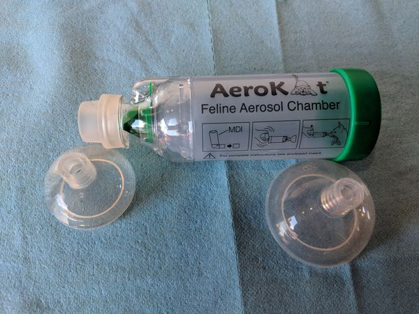 aerokat inhaler chamber for