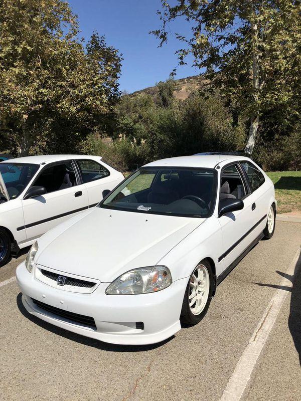 2000 Civic Hatchback For Sale : civic, hatchback, Honda, Civic, Hatchback, Taffeta, White, Puente,, OfferUp