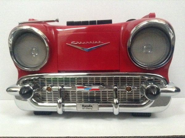 chevy radio 57 subaru wrx wiring diagram vintage randix am fm cassette cr 1957 stereo for sale