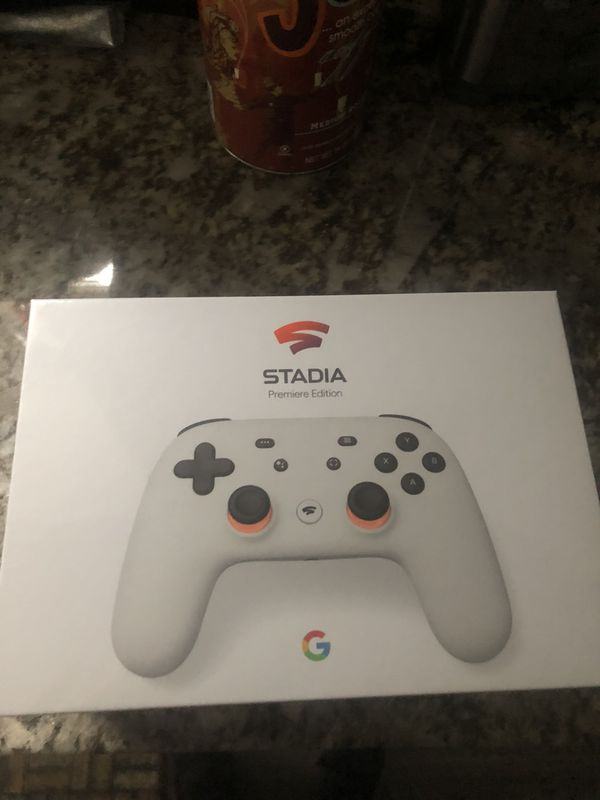 Sealed Google Stadia Premier Edition (white) for Sale in Dallas. TX - OfferUp