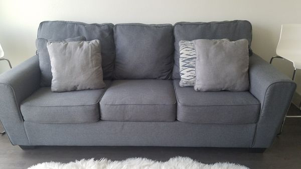 addison sofa ashley furniture best quality inexpensive sofas 350 obo gray couch like new for sale in tx offerup