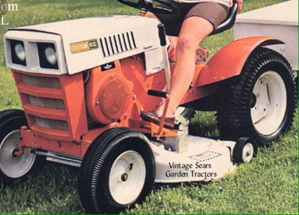 Sears Manuals For Lawn Tractors