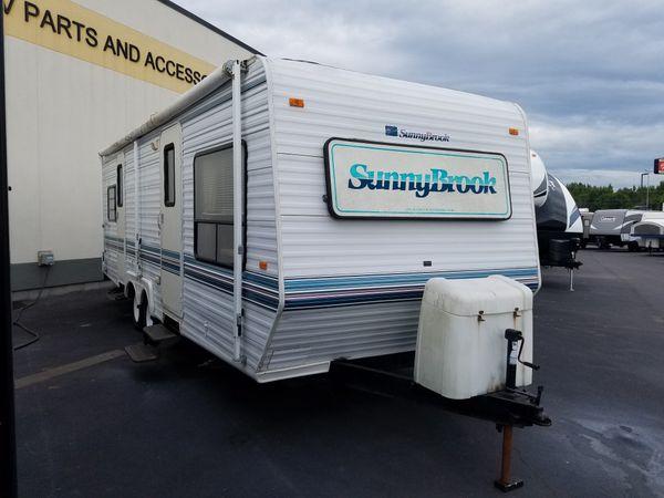 Sunnybrook Travel Trailer Floor Plans