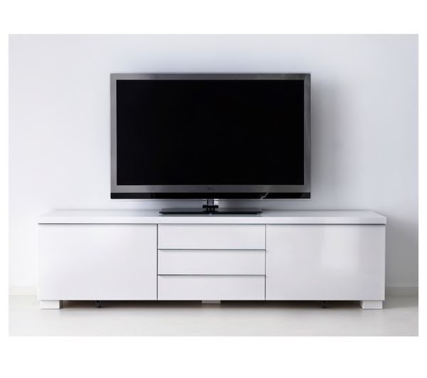 Ikea Besta Burs White Tv Stand For Sale In Torrance Ca Offerup