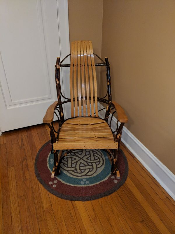 handmade rocking chairs avengers bean bag chair amish for sale in oak park il offerup