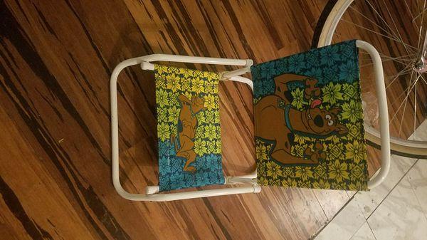 scooby doo chair plastic tri fold beach lounge kids baby in allen tx offerup