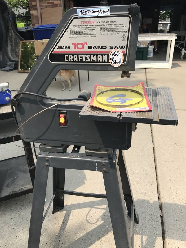 Burgess Bandsaw For Sale