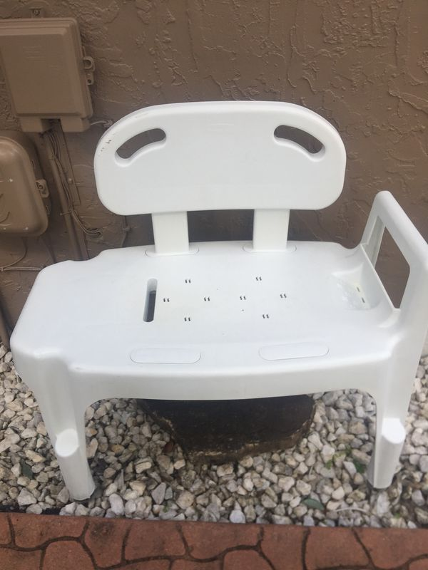 rubbermaid shower chair replacement parts ikea desk heavy sturdy medical bench for sale in plantation fl offerup