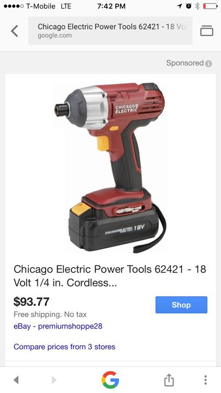 Chicago Electric Power Tools Reviews