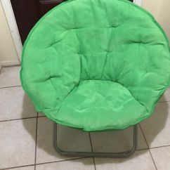 Teal Faux Fur Saucer Chair Adec Dental Prices Oversized Chairs Green Have 2 For Sale In