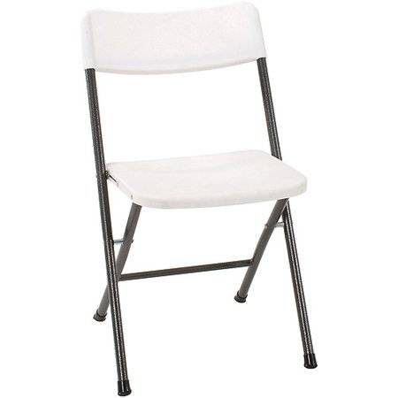 resin folding chairs for sale dining chair seat covers nz cosco 4 pack new in box white color