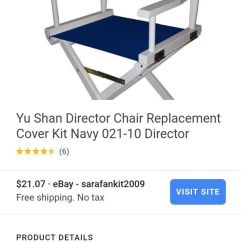 Director Chair Replacement Covers Ebay 4x4 Power Yu Shan Canvases For Sale In Antelope Ca Open The Appcontinue To Mobile Website