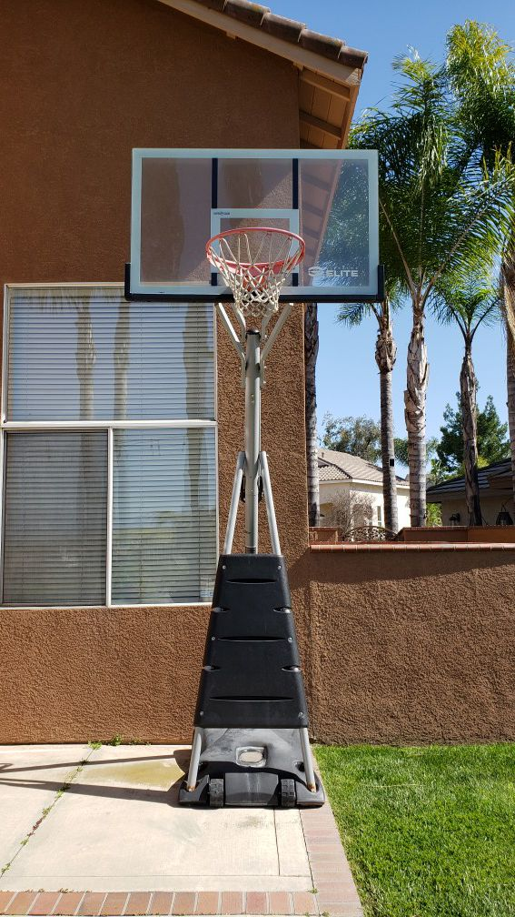 Lifetime Elite Series Basketball Hoop : lifetime, elite, series, basketball, Lifetime, Elite, Basketball, Chino, Hills,, OfferUp