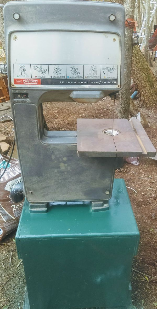 Craftsman 12 Inch Band Saw Sander