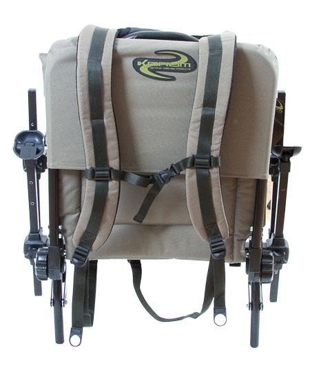 fishing chair rucksack retro dining chairs ireland korum ruck straps luggage | bobco tackle, leeds