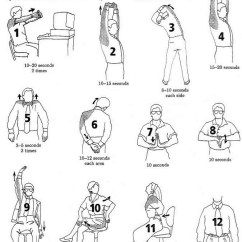 Chair Exercises For Seniors Handout Geeken Revolving Price The 7th Inning Stretch — Oh She Glows