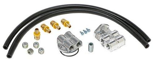 Trans-Dapt Performance 1820 Single Oil Filter Relocation Kit