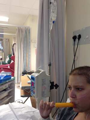 The ward is so busy [OK]
