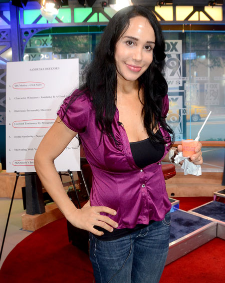 Nadya Suleman AKA the Octomom is rumoured to be entering the CBB house in January [Wenn]