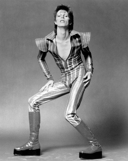 David Bowie as Ziggy Stardust [Getty]