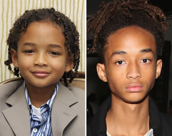 Will Smith's son, Jaden, is often picture out with showbiz friends like Kylie Jenner and Justin Bieber [Getty]