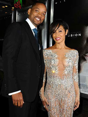 Will Smith and Jada Pinkett Smith will not be attending the Oscars [WENN]