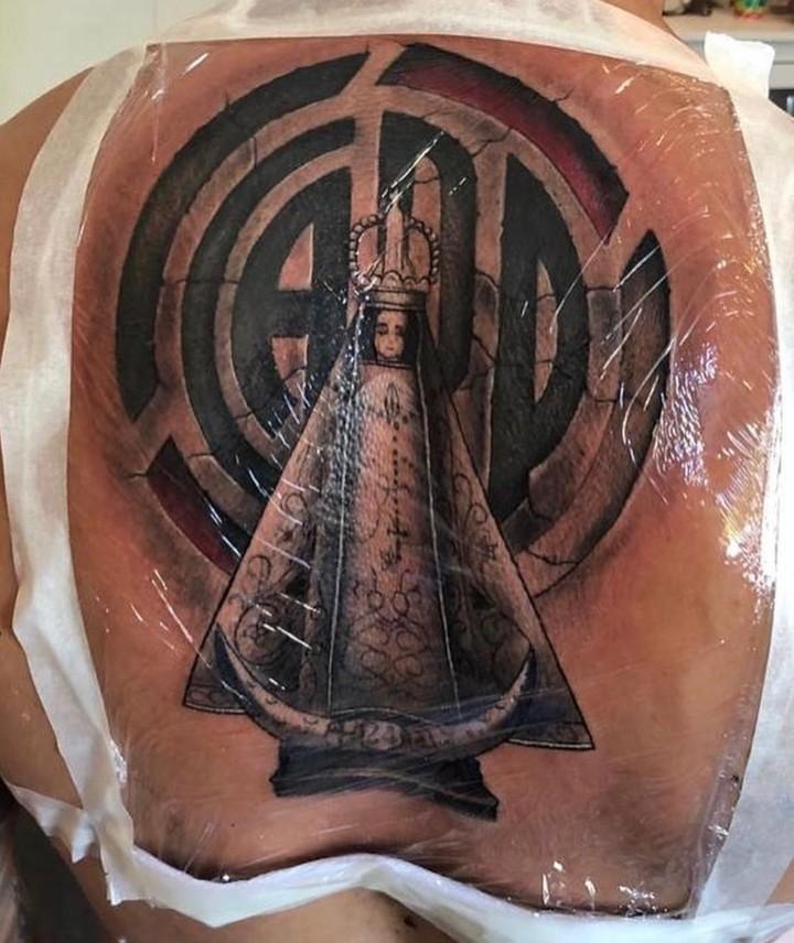 El Impresionante Tattoo De Enzo Pérez 26122018 Olé