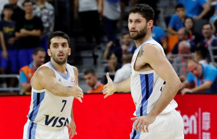 Campazzo y Garino, figuras. (Reuters)