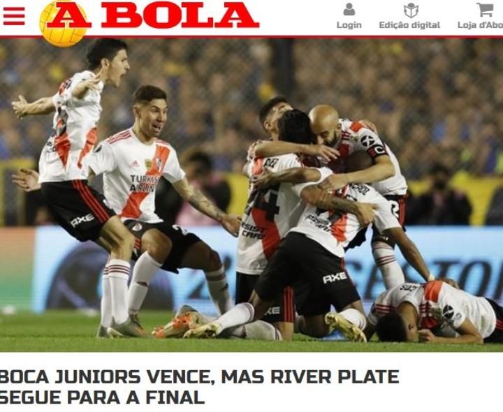 La prensa habla de River.