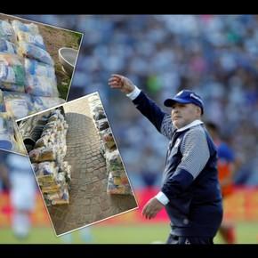 Diego le agradeció a Barrios por un gesto solidario