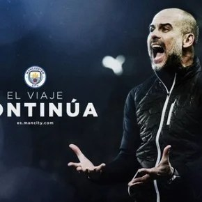There is Guardiola for a while in the City