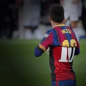 The story behind the shirt with which Messi paid tribute to Maradona