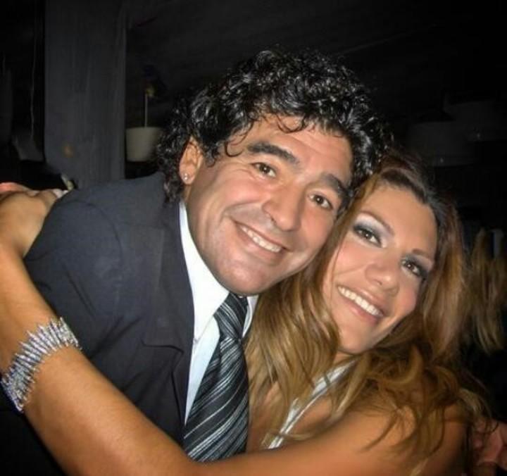 Flower of the V remembered Maradona.