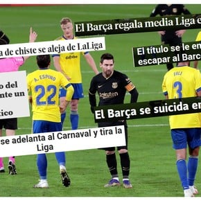 The Spanish press and the role of Messi's Barcelona