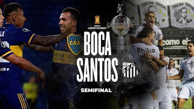Cuándo juegan Boca-Santos las semifinales? - Olé