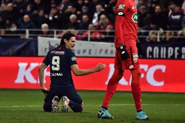 Con la 9 fue goleador histórico del PSG (AFP)