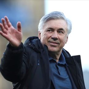 Ancelotti llegó a Madrid para poner el gancho